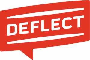 Deflect logo for portfolio