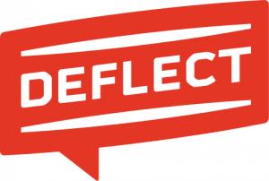 Deflect logo for portfolio